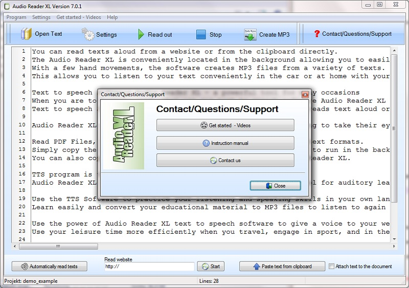 New innovative Text to Speech Software for Windows
