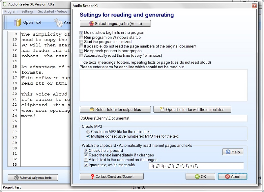 Text Reader 2019 to Read Aloud Texts for Windows PC - Free Download Here