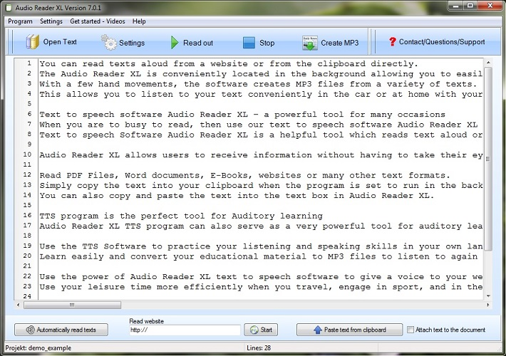 TTS Software helps converting Text to Speech for a lighter life